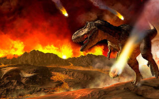 Астероид, погубивший динозавров, вызвал массовое глобальное потепление