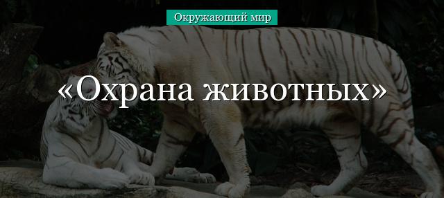 Охрана животного мира. Красная книга - Для студента