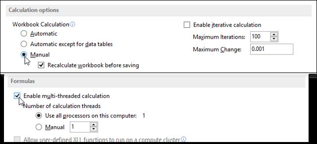Главное окно, настройки и параметры Excel - Для студента