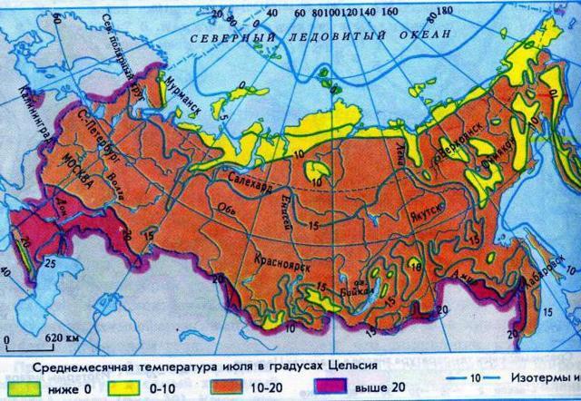 Климат и внутренние воды Южной Сибири - Для студента