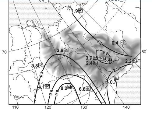 Климатические контрасты севера и юга Дальнего Востока - Для студента