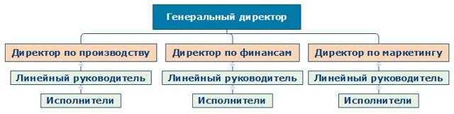 Организационная структура служб на предприятии размещения - Для студента