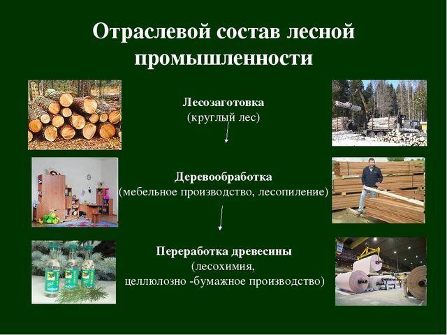 Лесная промышленность - Для студента