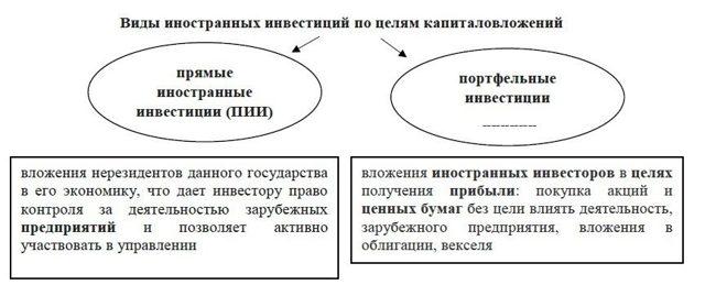 Иностранные инвестиции в России - Для студента