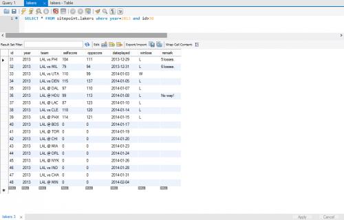 Использование курсоров в хранимых процедурах в mysql - Для студента